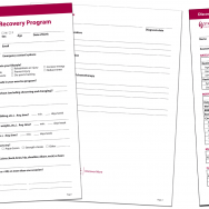 HFI Cancer Recovery forms